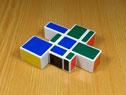 Дзеркальний кубоїд 1х3х3 YuXin