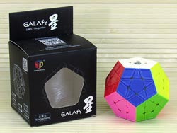 Megaminx X-Man Galaxy v1 (75 mm)