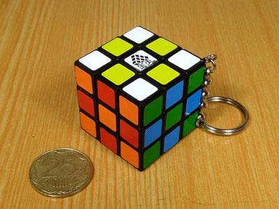 Брелок кубик Рубіка WitEden 30 мм