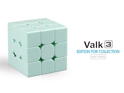 Rubik's Cube The Valk 3 Mint Green (Limited Edition)