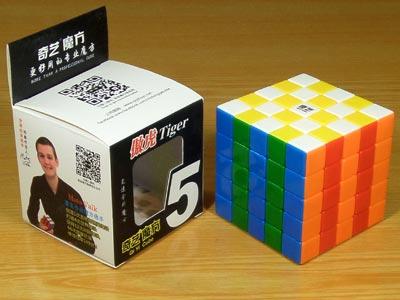 Кубик 5х5х5 QiYi AoHu (Pride Tiger)