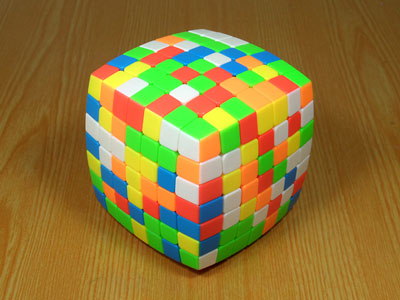 7x7x7 Cube MoYu AoFu (pillowed)