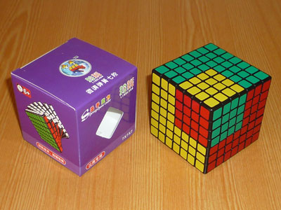 7x7x7 Cube ShengShou 69 мм