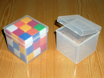 Box for puzzles