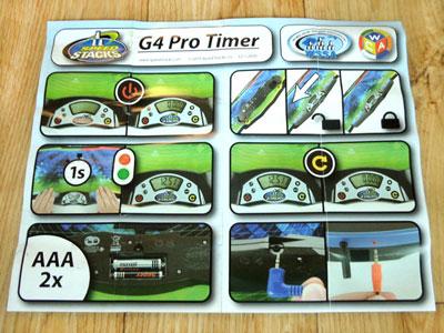 Сенсорний таймер Speed Stacks Pro G4