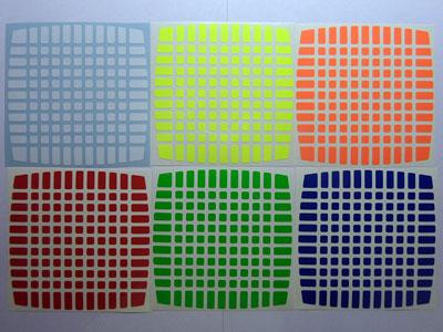 Наклейки на кубик 11х11х11