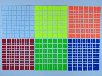 Наклейки на кубик 11х11х11 ShengShou