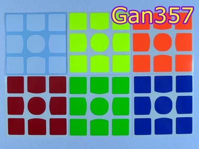 Stickers for Gan357