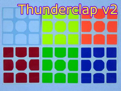 Наклейки на MoFangGe Thunderclap v2