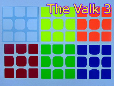 Наклейки на The Valk 3 / Valk 3 Power