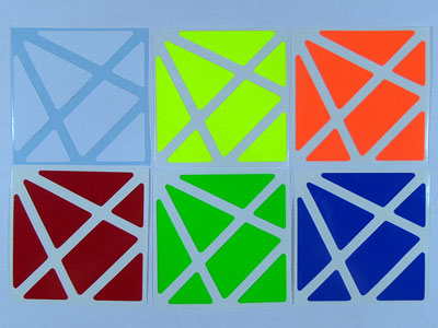 Stickers for Axis Cube (Axel Cube)