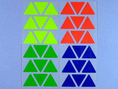 Stickers for Pyraminx