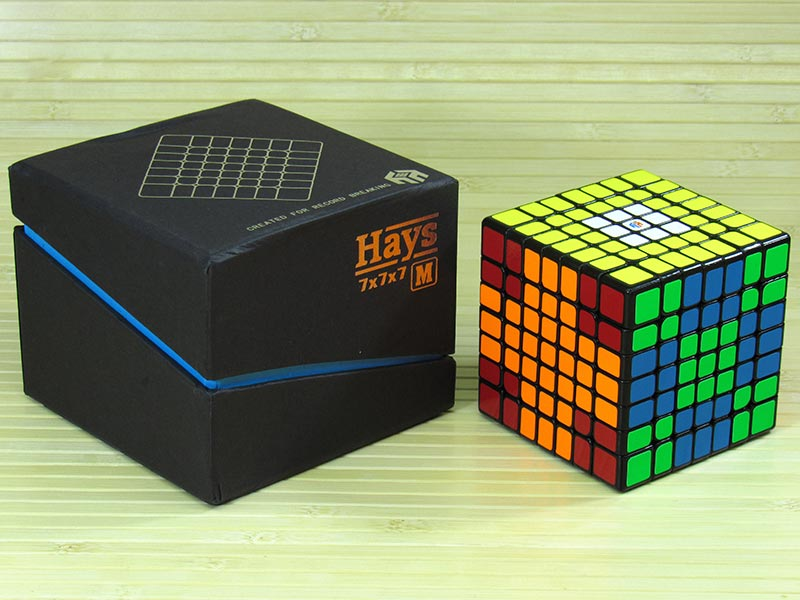 7x7 YuXin Hays7 M (black, stickerless) | Puzzles shop «Cut ...